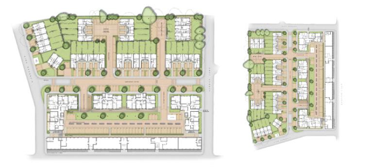 Overhead Street Plan